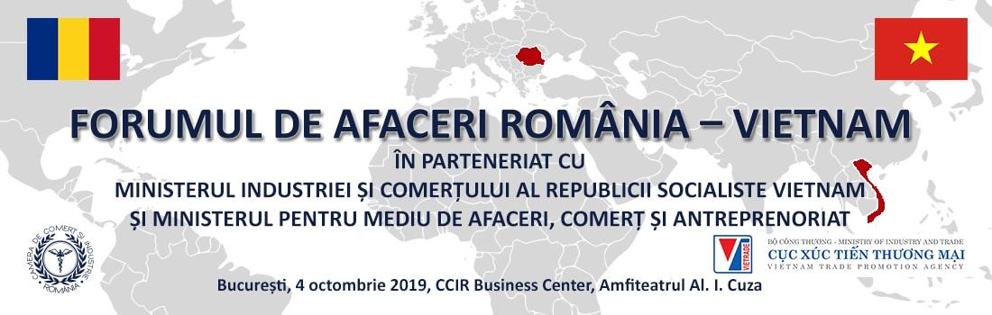 Forum de Afaceri România – Vietnam